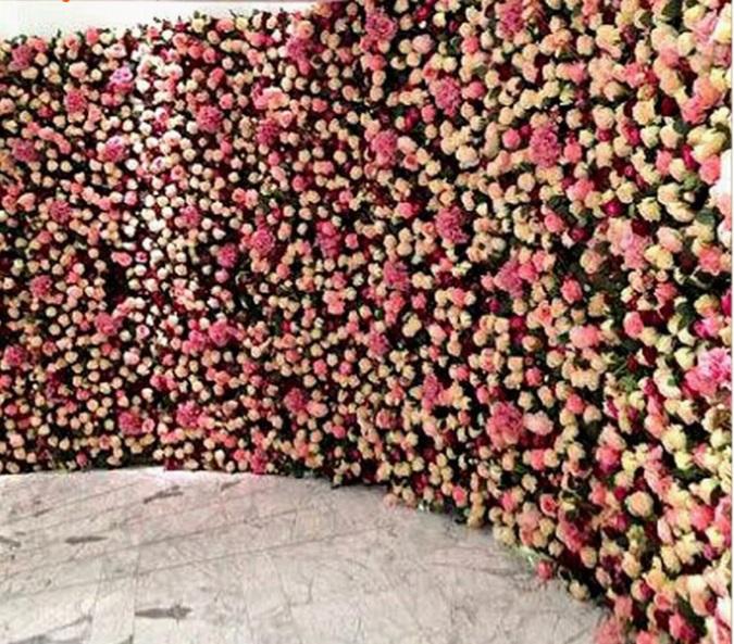 Как сделать стену из искусственных цветов своими руками